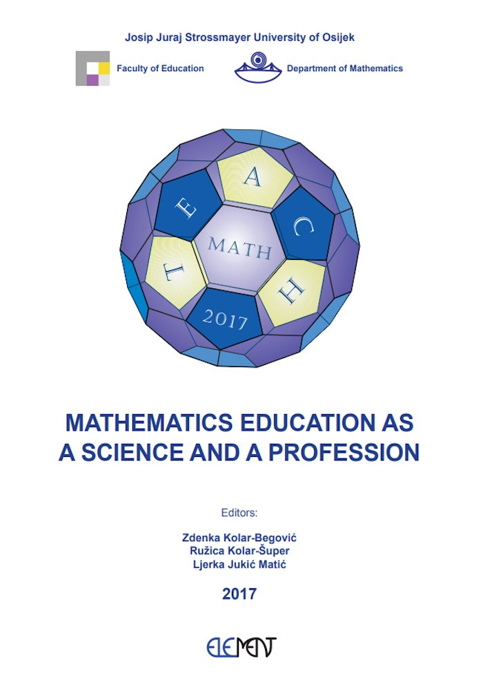 Mathematics Education as a Science and a Profession